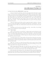 Thiết kế yếu tố hình học đường ôtô - Chương 1: KHÁI NIỆM CHUNG VỀ ĐƯỜNG Ô TÔ