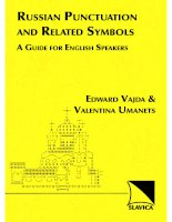 russian punctuation and related symbols  a guide for english speakers