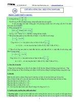 Luyện thi đại học môn vật lý chuyên đề sóng âm   hiệu ứng DOPLE