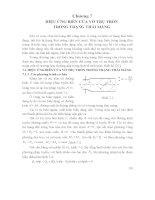 Tài liệu môn Tấm và Vỏ Chương 7 hiệu ưng biên của vỏ trụ tròn trong trạng thái màng