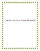 7 thắc mắc về bé sơ sinh mà bố mẹ nào cũng muốn biết. pdf