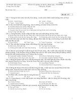 Đề thi trắc nghiệm tin học B - Mã đề 141 pot