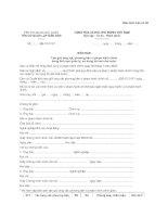 MẪU BIÊN BẢN Tạm giữ tang vật, phương tiện vi phạm hành chính trong lĩnh vực quản lý, sử dụng tài sản nhà nước pdf