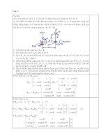 Tài liệu   những bài toán hay môn cơ học hệ nhiều vật