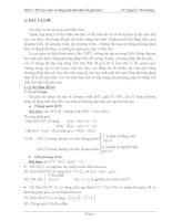 Sử dụng tính đơn điệu của hàm số để giải toán