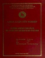 Xu hướng Logistics toàn cầu và một số giải pháp cho dịch vụ này ở Việt Nam (2010)