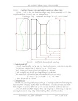 Đồ án thiết kế dụng cụ công nghiệp
