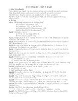 các bài tập trắc nghiệm hóa học 9