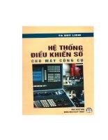 Giáo trình phương pháp xây dựng hệ thống điều khiển số cho máy gia công cơ khí
