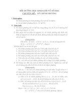 Bồi dưỡng học sinh giỏi toán THCs -chuyên đề số học