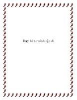 Dạy bé sơ sinh tập đi pdf