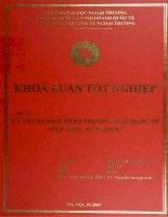 khóa luận tốt nghiệp kỹ thuật đàm phán thương mại quốc tế việt nam - hàn quốc