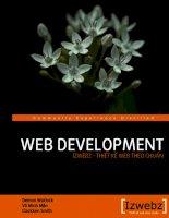 Bài giảng - Giáo án: lập trinh web development fix