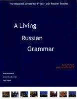 a living russian grammar beginner-intermediate