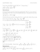 Cách phân tích bài toán bđt