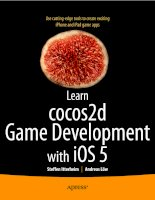 apress learn cocos2d game development with ios 5 (2011)