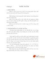 thiết kế máy rửa chai trong hệ thống dây chuyền sản xuất nước tinh khuyết, chương 2