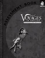 voyages in english - writing and grammar -assessment book 7