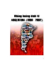 Tiểu luận:Khủng hoảng kinh tế Argentina pdf