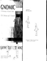 gnomic. a dictionary of genetic code