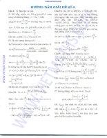 Đề thi thử ĐH môn Toán 3 pdf