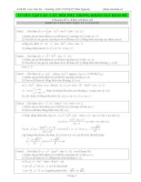 Tuyển tập các câu hỏi phụ trong khảo sát hàm số