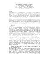 Hệ thống điều khiển thời gian thực có xét tới trễ truyền thống pdf