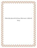 Phân biệt giữa chế độ Sleep, Hibernate và Hybrid Sleep. pdf