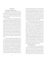 Pháp luật về bảo vệ quyền và lợi ích của nhà đầu tư trên thị trường chứng khoán tập trung ở Việt Nam