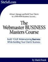 make money as a webmaster