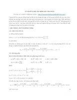 Lý thuyết & bài tập môn giải tích phức