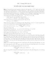tài liệu ôn thi học sinh giỏi lớp 9 môn vật lý