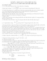 Tài liệu bồi dưỡng vật lý lớp 11
