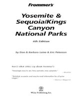 frommer''s yosemite and sequoia kings canyon national parks (wiley,2004)