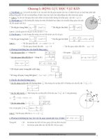 tóm tắt kiến thức luyện thi đại học vật lý 2014