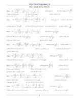 Tổng hợp 500 bài tập ôn tập thi toán lớp 9