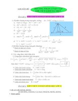 Phương pháp luyện tập thể tích khối đa diện