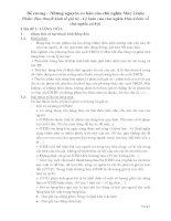 Giáo án Bài giảng về: Đề cương và giáo an những nguyên lý cơ bản của chủ nghĩa Mác LêNin
