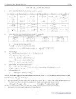 Chuyên đề hàm số luyện thi đại học
