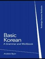01 basic korean a grammar and workbook