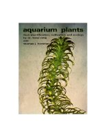aquarium plants their identification cultivation and ecology - karel rataj