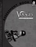 voyages in english - writing and grammar - assessment book 6