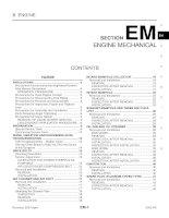 EM HƯỚNG dẫn sửa CHỮA ĐỘNG cơ TRÊN XE INFINITI FX35,FX45 2003