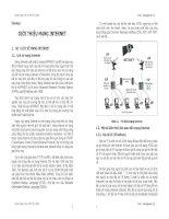 Bài giảng - Giáo án: Bài giảng thiết kế web bằng asp