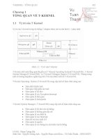 Giáo án - Bài giảng: Công nghệ thông tin:  Tài liệu T kernel trong hệ thống T engine phần 2