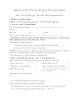 MẪU DỰ ÁN XÂY DỰNG QUY CHUẨN KỸ THUẬT ĐỊA PHƯƠNG DỰ ÁN XÂY DỰNG QUY CHUẨN KỸ THUẬT ĐỊA PHƯƠNG pdf