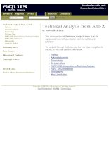 achelis, steven - technical analysis from a to z
