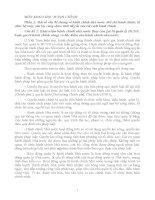 Tài liệu ôn thi MÔN KHOA HỌC HÀNH CHÍNH