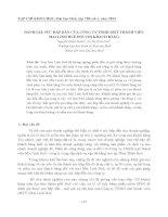 ĐÁNH GIÁ SỨC HẤP DẪN CỦA CÔNG TY TNHH MỘT THÀNH VIÊN MAI LINH HUẾ ĐỐI VỚI KHÁCH HÀNG pptx