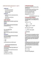 Phương pháp giải bài tập Hóa học 11 - Phần vô cơ